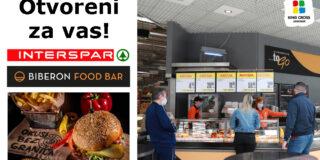 Uživajte u bogatoj ponudi jela restorana Biberon Food Bar i Spar To Go!